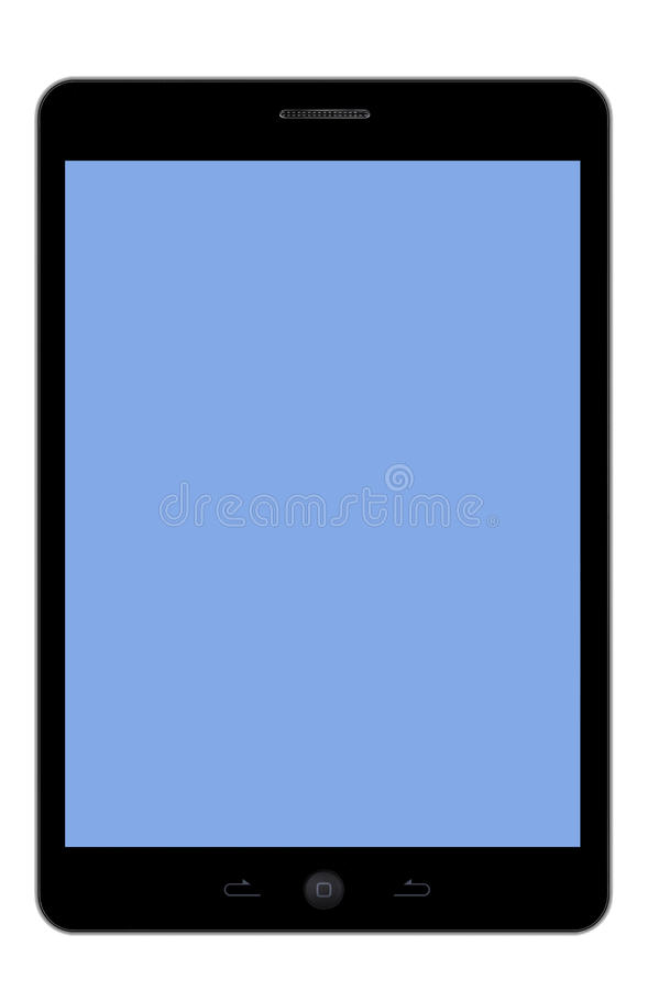 Download Tablet PC blue screen stock image. Image of computer - 29784047