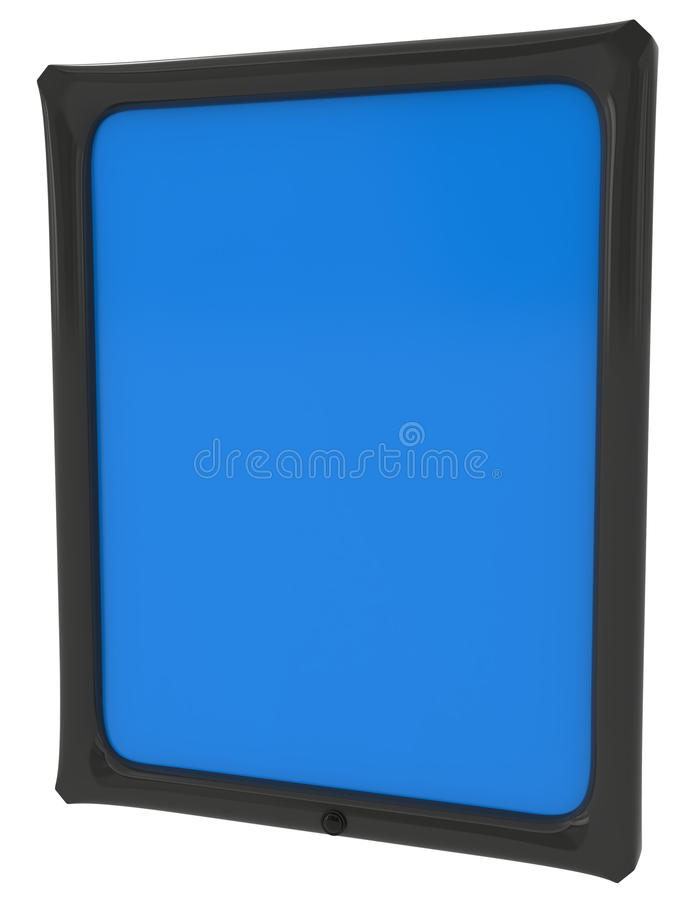 Download Tablet PC Isolated On White Stock Illustration - Image: 15392505