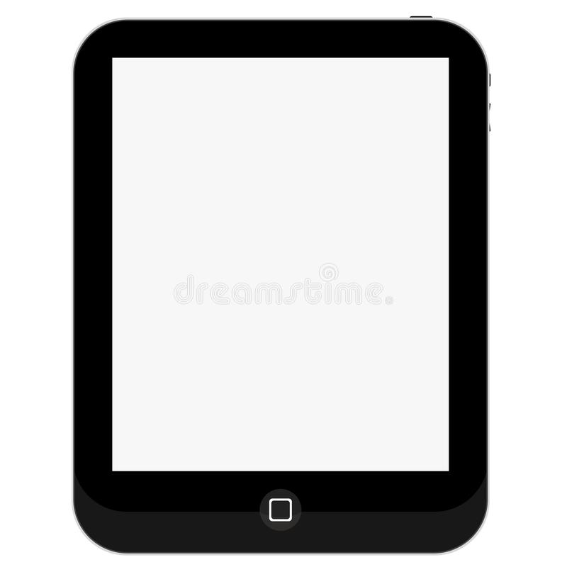 Tablet PC Touch Pad Blank Screen Editorial Photography