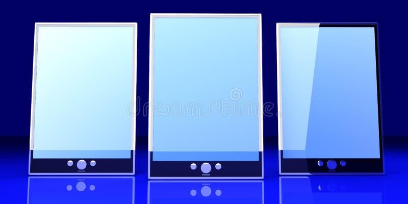 Download Tablet PCs stock illustration. Image of internet, concept - 26710023