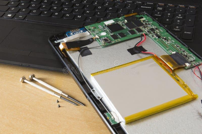 Tablet Repair royalty free stock images