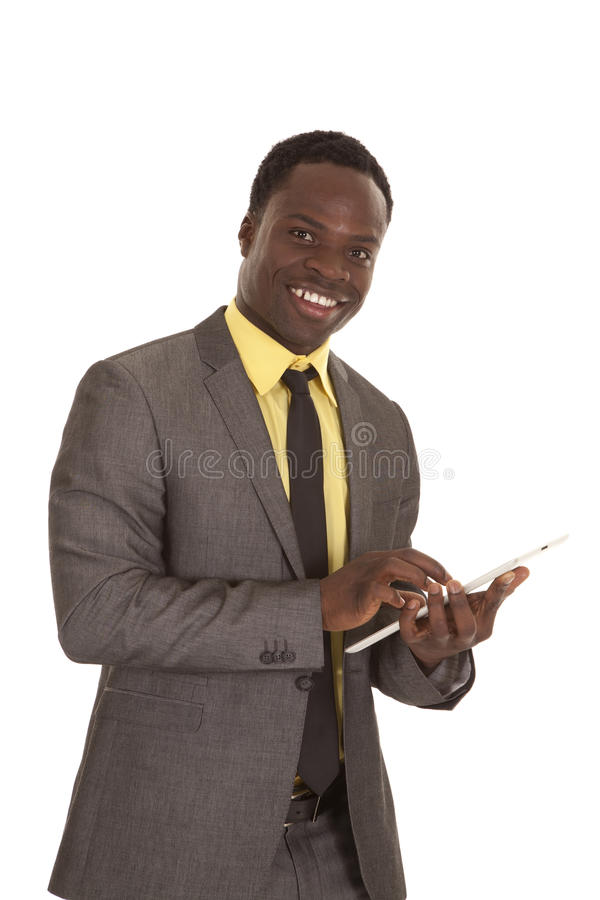 Download Tablet smile stock image. Image of happy, concept, corporate - 24044823