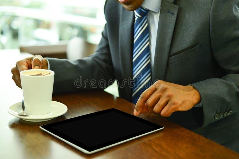 Tableta de Digitaces, hecha mi trabajo fácil imagen de archivo libre de regalías