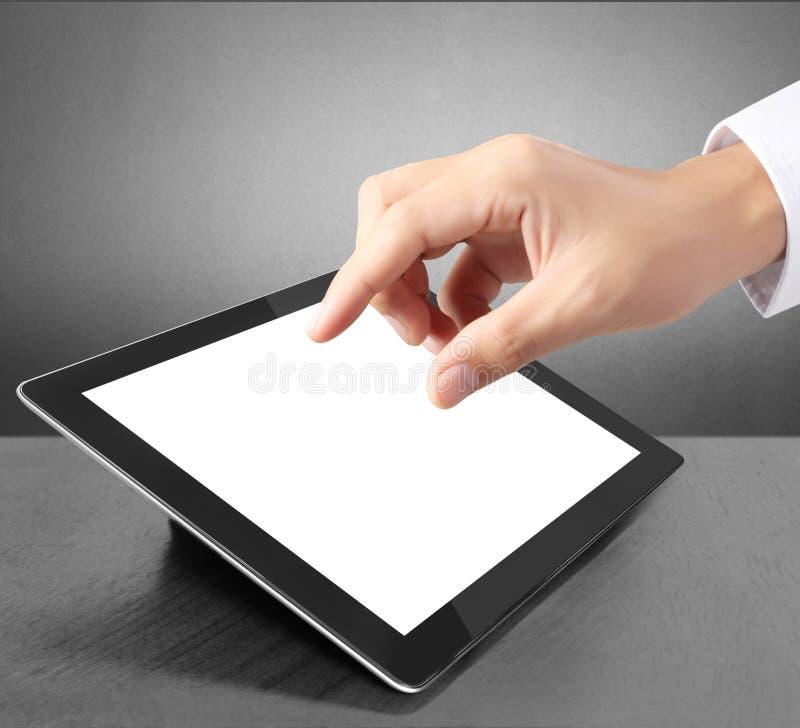 Tableta de la pantalla táctil ilustración del vector