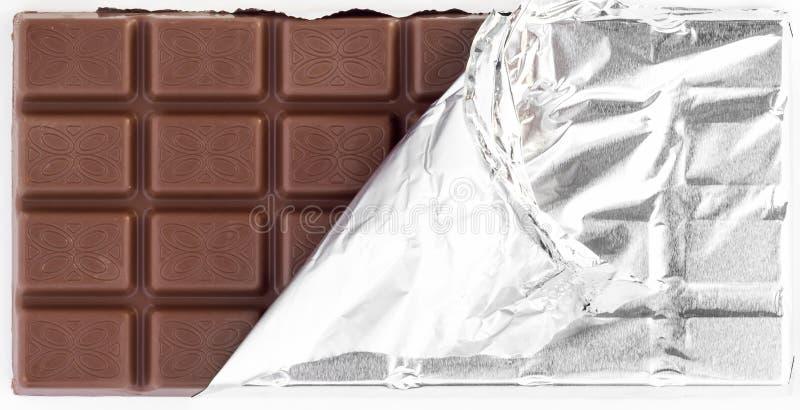 Tableta del chocolate imagen de archivo libre de regalías