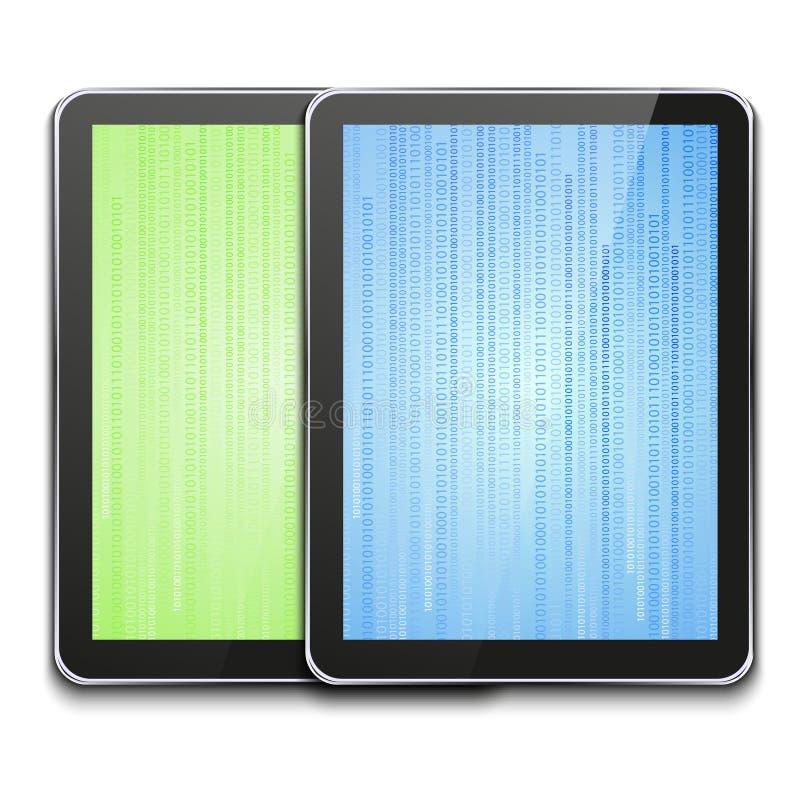 Tableta moderna del ordenador del vector en blanco libre illustration