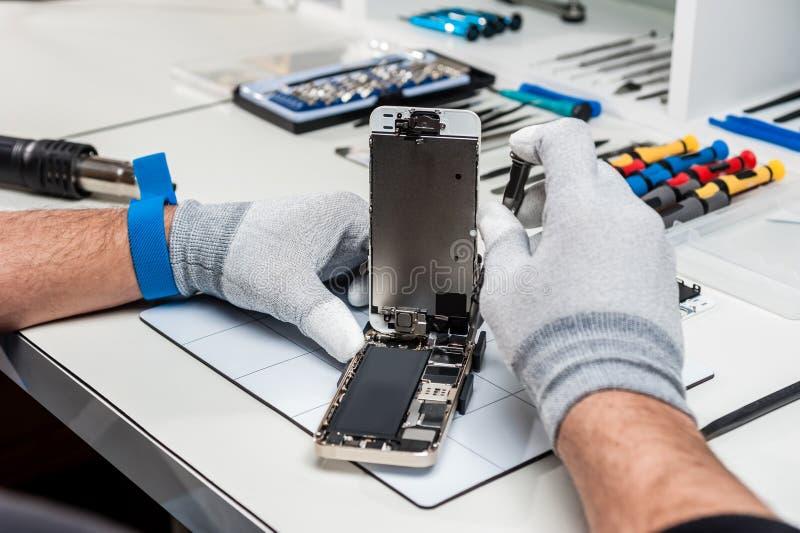 Tableta, reparación de la vaina imagen de archivo libre de regalías