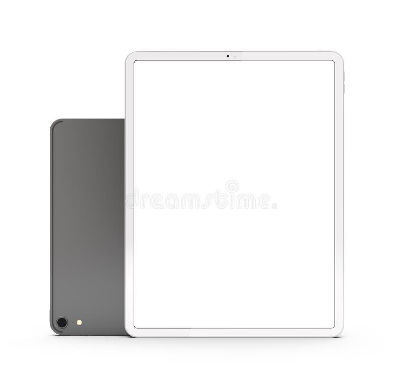 Tabletas en la nueva versión ilustración del vector