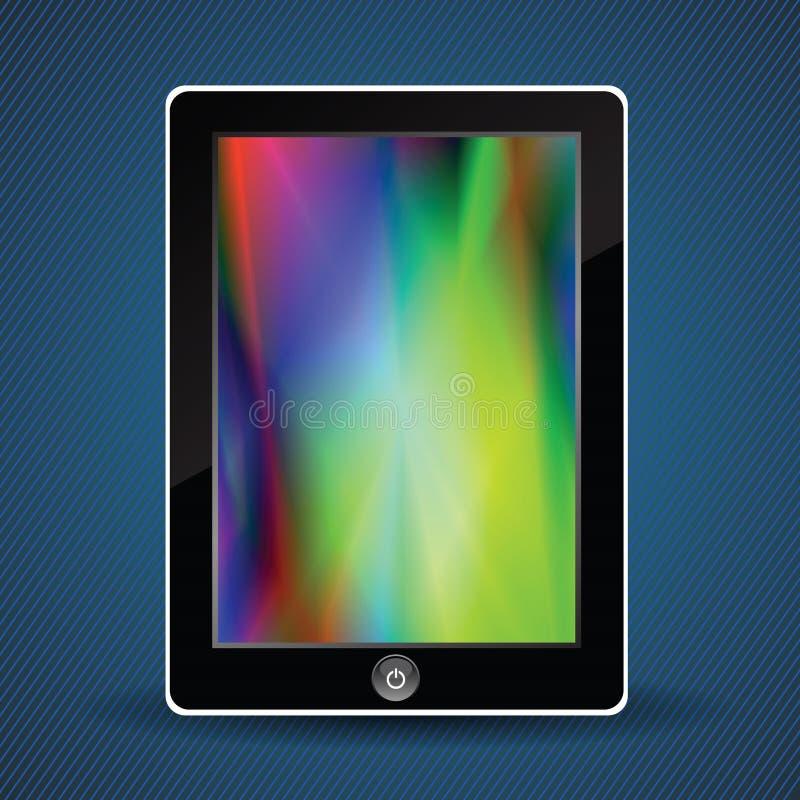 Tabletcomputer stock illustratie