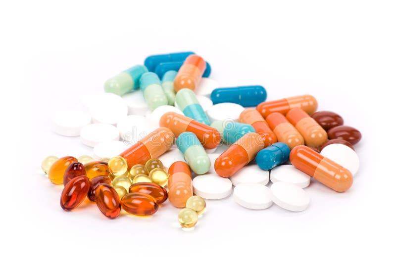 tabletki leków obrazy stock