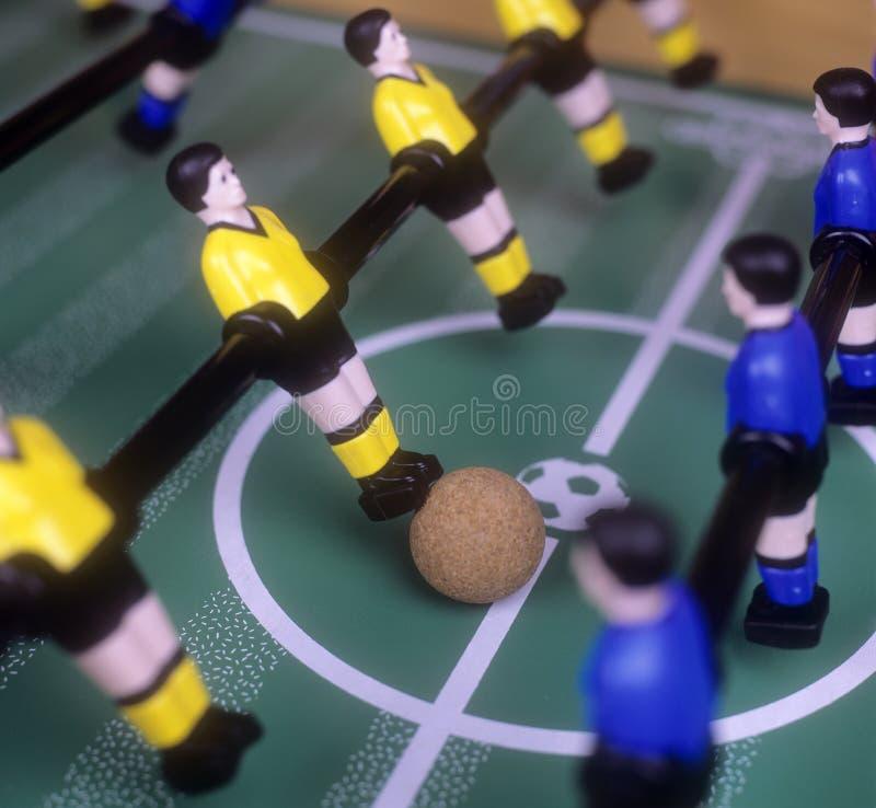 tabletop футбола стоковое изображение