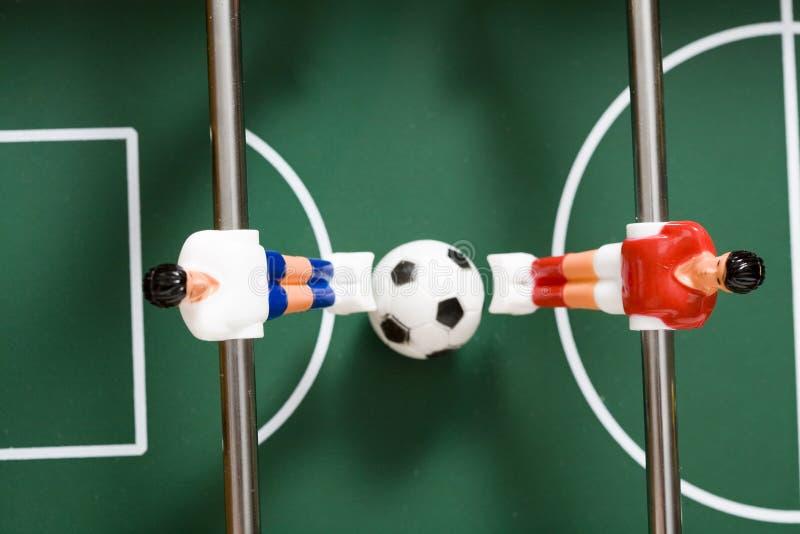 tabletop футбола стоковое фото