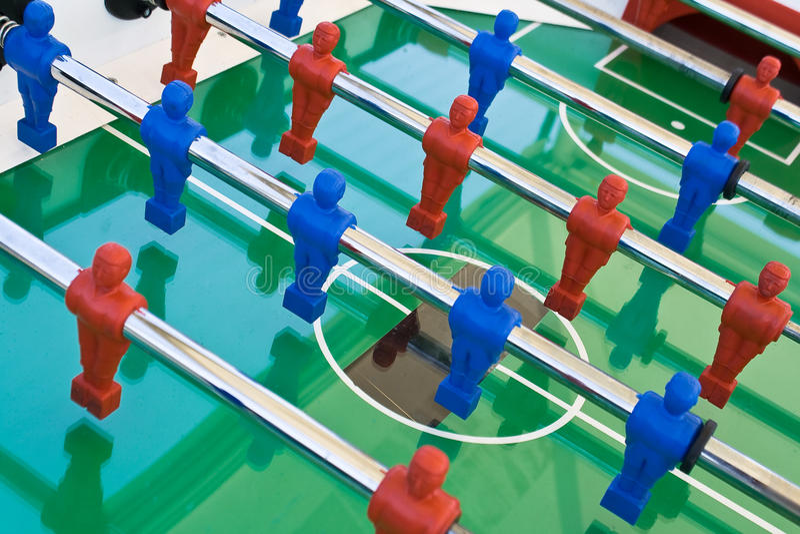 tabletop футбола стоковые изображения rf