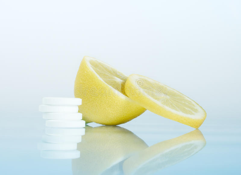 Download Tablets stock photo. Image of medical, cold, citrus, capsule - 13038746