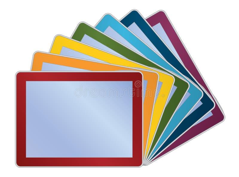 Download Tablets stock vector. Illustration of frame, modern, equipment - 24088464