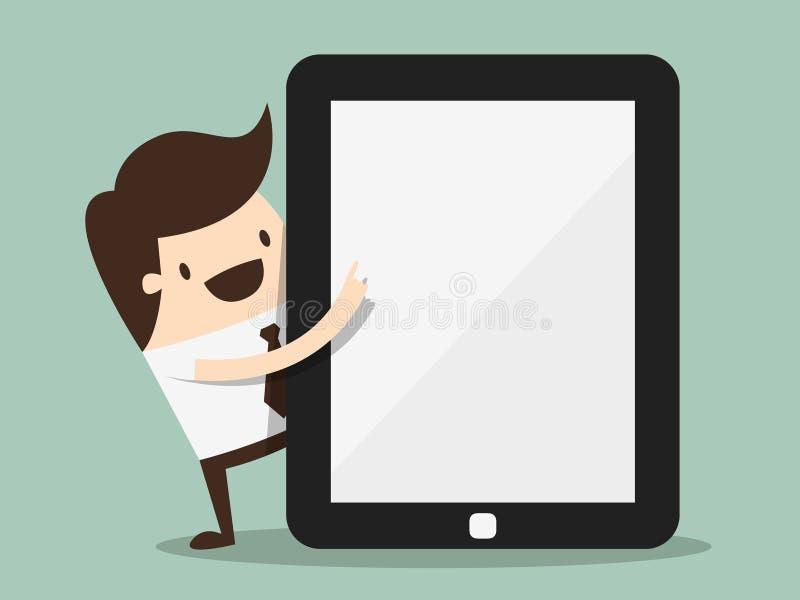 tablette illustration libre de droits