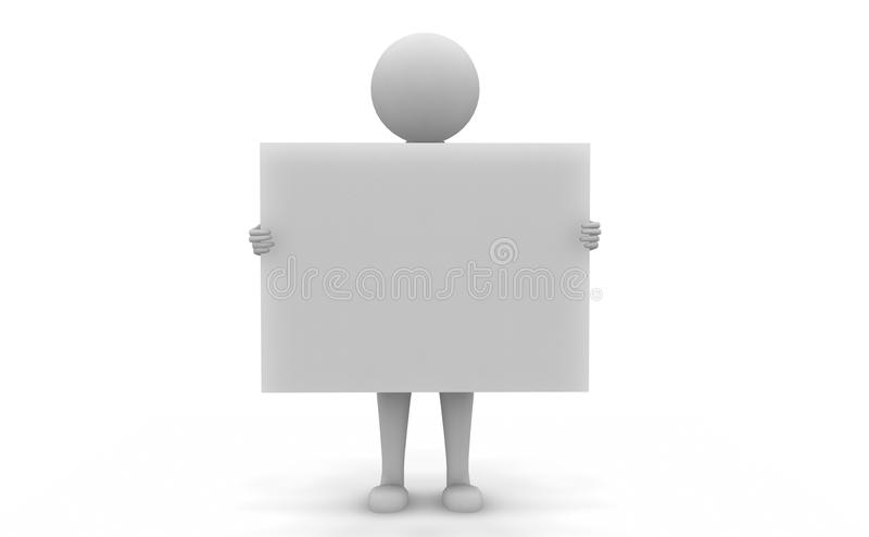 Tablette blanc illustration stock