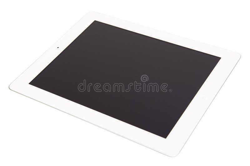 Tablette blanche image libre de droits