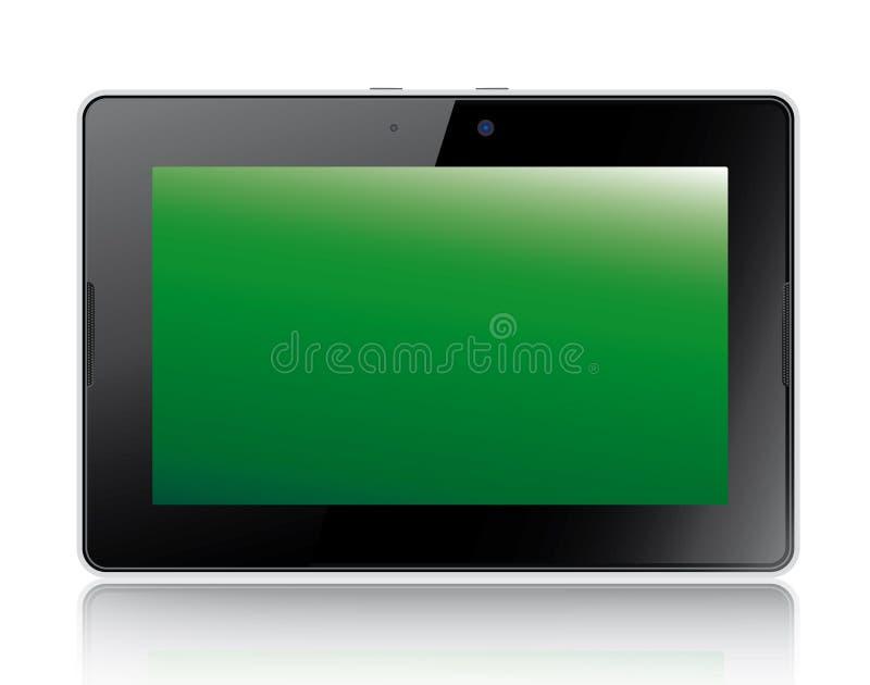 Tablette d'ordinateur de plans d'action de mûre