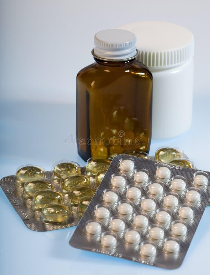 Tablette de médecine photos libres de droits