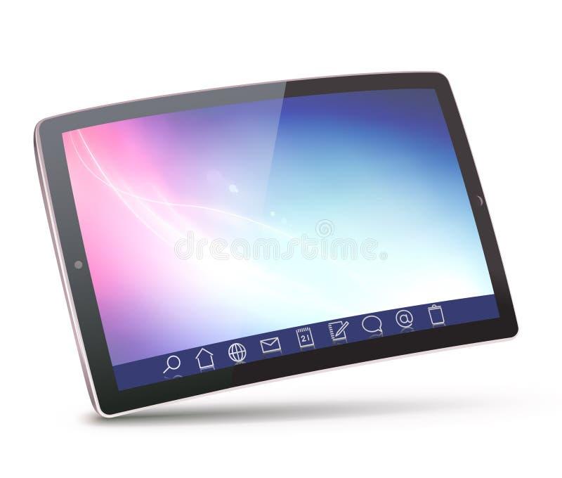 Tablette PC vektor abbildung
