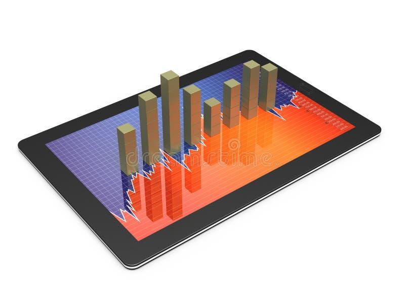 Tablette, PDA stock abbildung