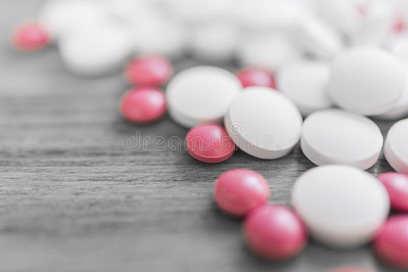 Tabletten van calcium royalty-vrije stock afbeelding