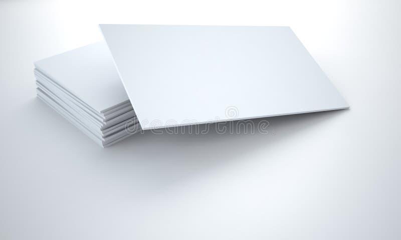 Tablettes de carton illustration stock