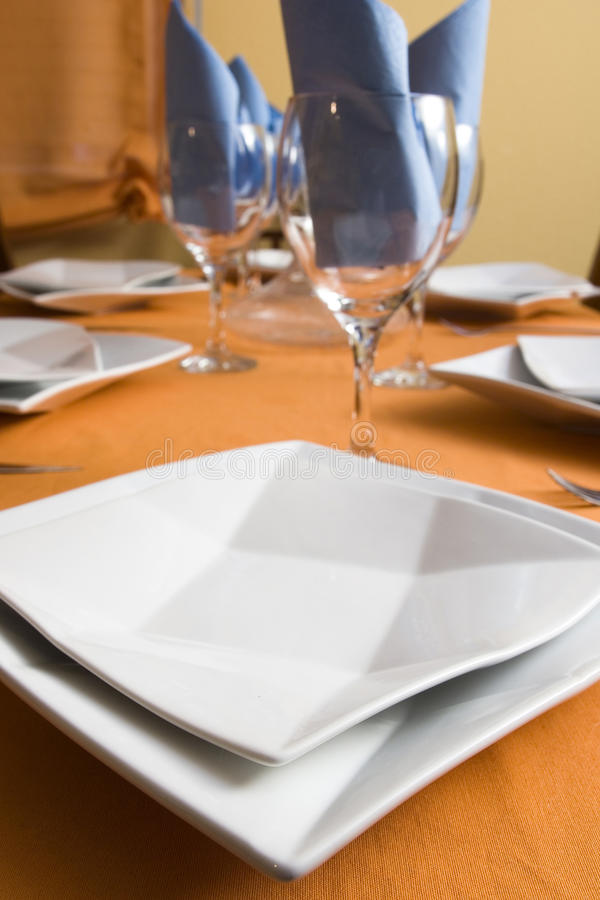 Download Tableware stock photo. Image of tablecloth, place, plate - 14713282