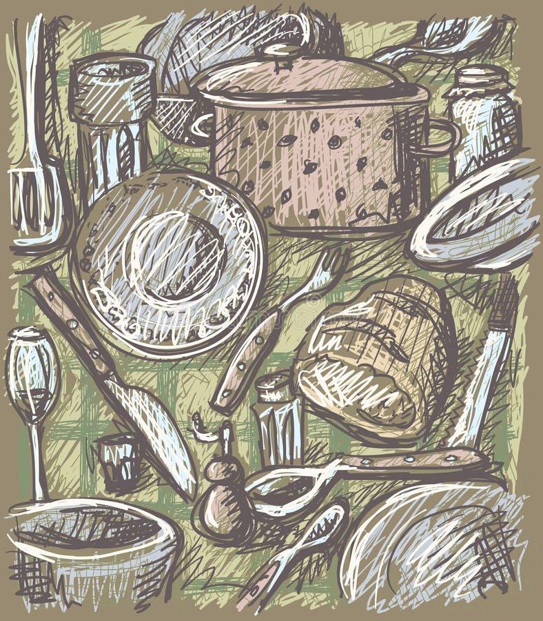 Free Tableware Artwork Stock Image - 11341641