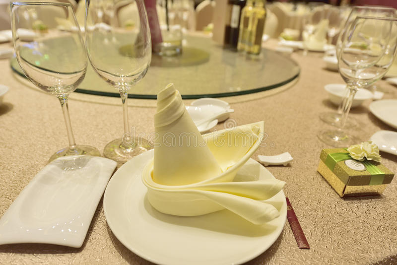 Tableware close-up royalty free stock images