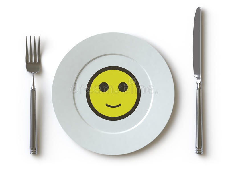 Download Tableware Collection - Push Here Stock Illustration - Image: 12137796