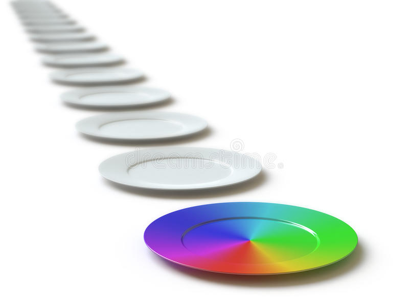 Download Tableware Collection - Push Here Stock Image - Image: 9661211