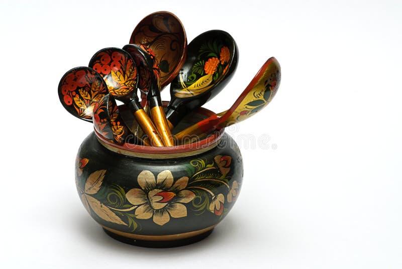tableware drewniany zdjęcia royalty free