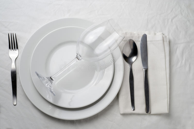 Download Tableware stock image. Image of drink, dish, spoon, setting - 37221829