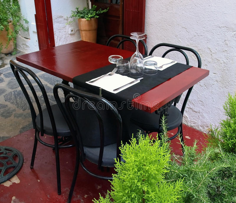 Download Tableware table stock image. Image of restaurant, drink - 12939997
