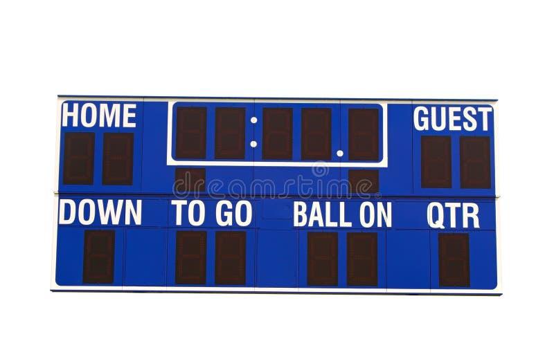 tablica futbolu zdjęcia stock