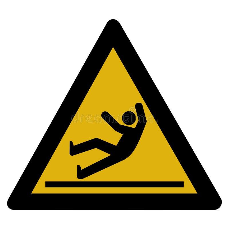 tablica ostrzeżenie ilustracja wektor