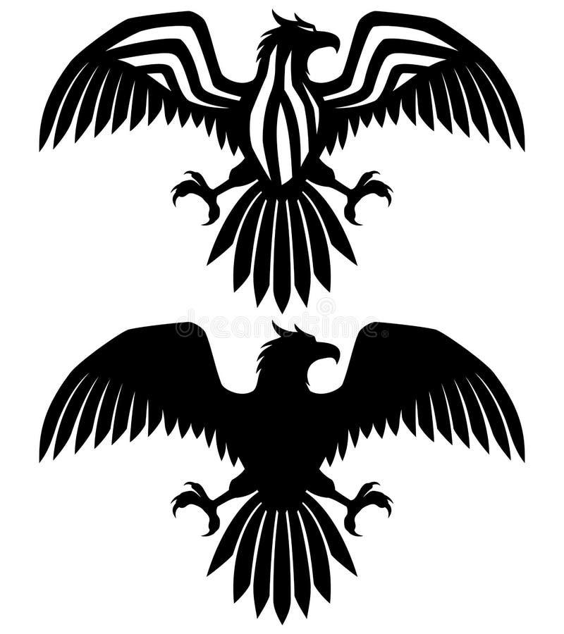 tablica wektora orzeł ilustracja wektor