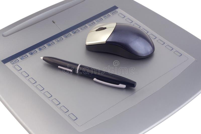 Tableta del ordenador fotos de archivo libres de regalías