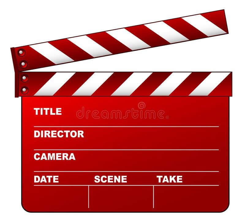 Tablilla roja stock de ilustración