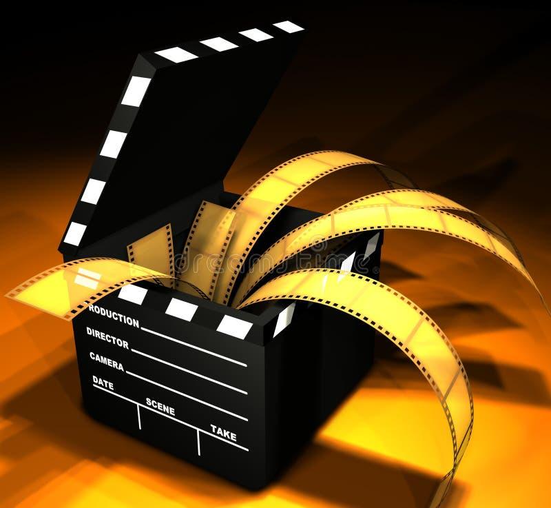 Download Tablilla y película stock de ilustración. Ilustración de camera - 1283151