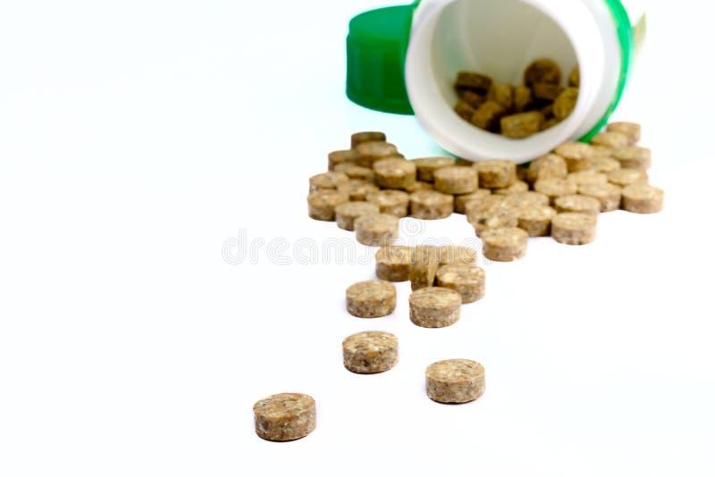 Download Tablillas Herbosas Con Un Tarro Imagen de archivo - Imagen de química, medicals: 7281587