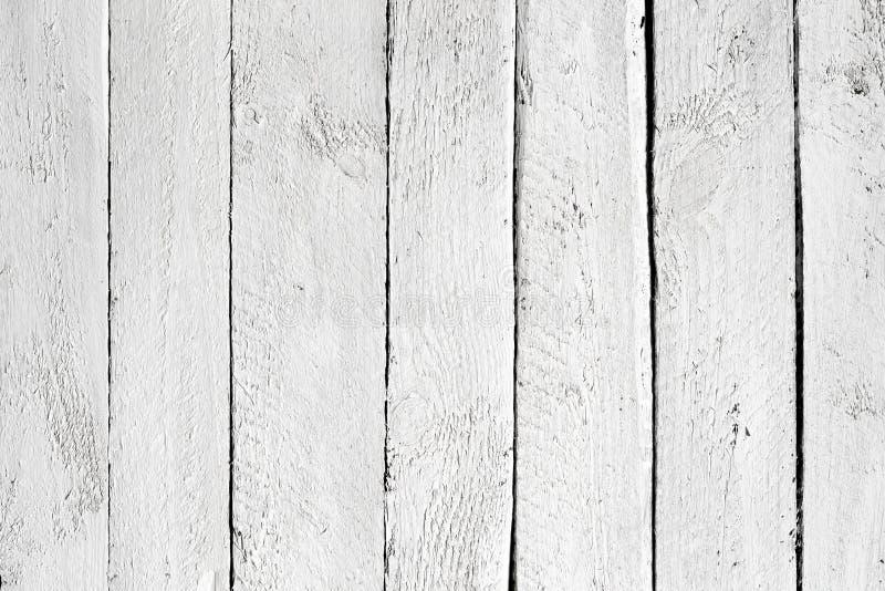 Tablones de madera blancos fotografía de archivo