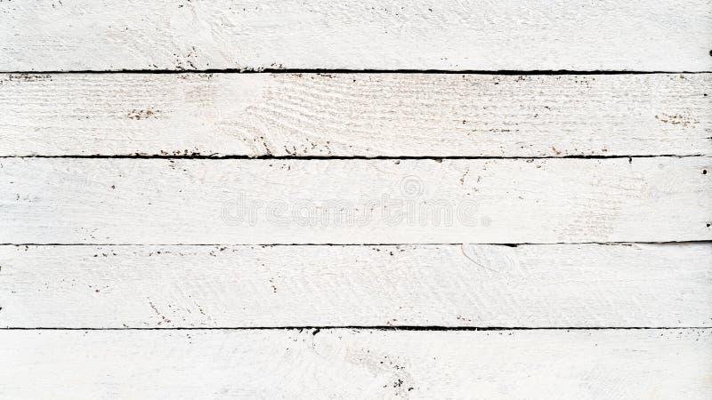 Tablones de madera blancos imagen de archivo libre de regalías