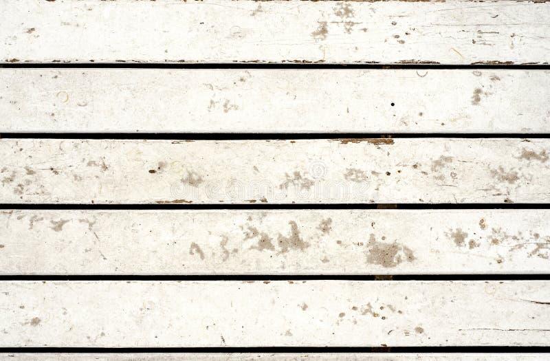 Tablones de madera blanqueados fotografía de archivo libre de regalías