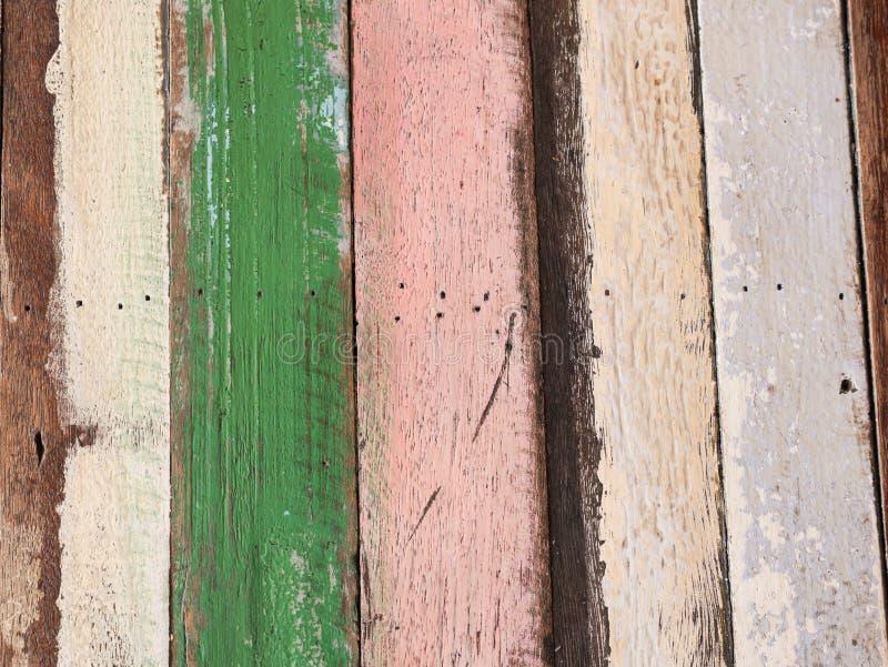Tablones de madera del vintage puestos juntos imágenes de archivo libres de regalías