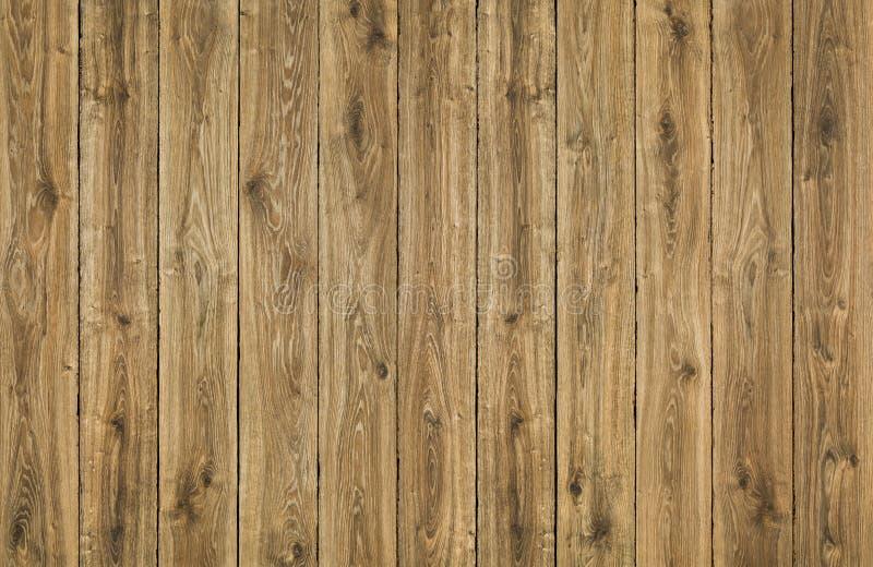 Tablones de madera fondo, cerca de madera de Brown, tablón de la textura del roble fotos de archivo libres de regalías