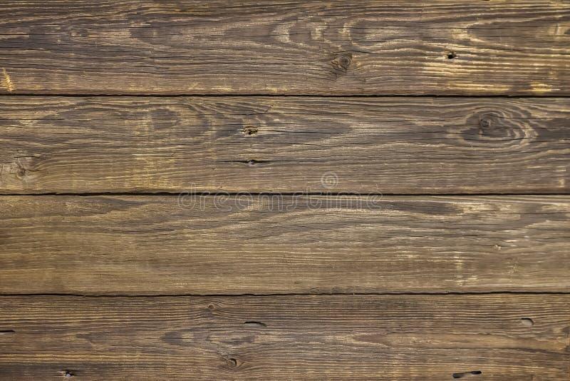 Tablones de madera naturales del vintage marrón del primer La oscuridad envejeció textura vacía del modelo del rustik Para el dis fotos de archivo libres de regalías