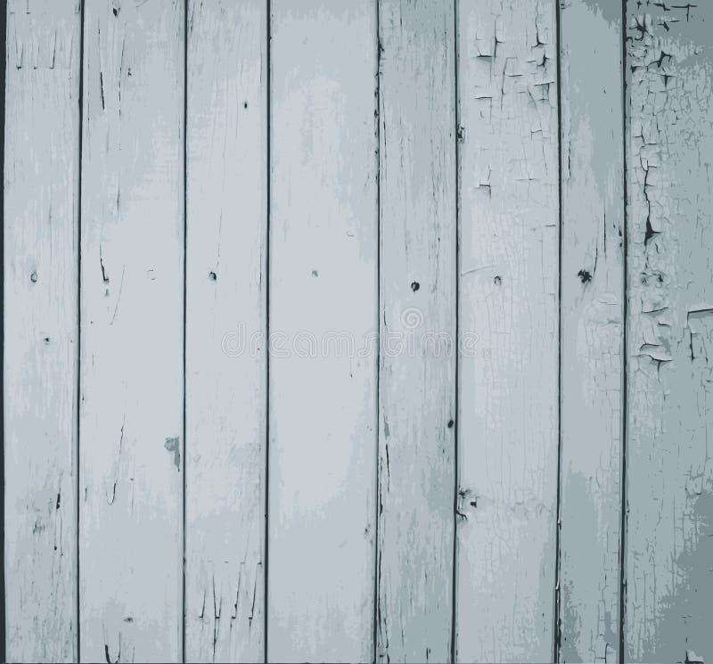 Tablones de madera pintados grises libre illustration